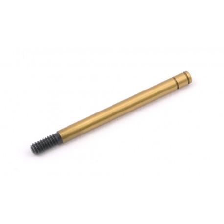 Front shock shaft gold, 0.71, ASCC2518