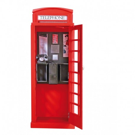 LONDON RED PHONE CABIN 1/10