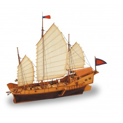 1/60 RED DRAGON CHINESE JUNK