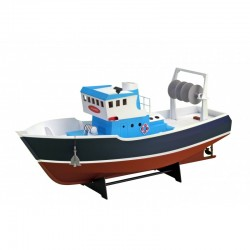 ATLANTIS Fishing Trawler. Suitable for RC (Build & Navigate series). 1/15