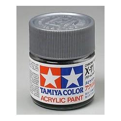 Tinta Acrilica X-11 Cinza 23ml Tamiya(aerografo/pincel)