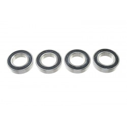 Rolamentos Chrome Steel - ABEC 3 - Rubber Shielded - 17X30X7 - MR6903-2RS - 4 pcs