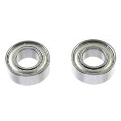 Rolamentos Chrome Steel - ABEC 3 - Metal Shielded - 4X8X3 - MR84ZZ - 2 pcs