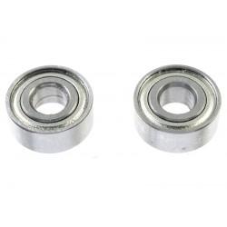 Rolamentos Chrome Steel - ABEC 3 - Metal Shielded - 4X10X4 - MR104ZZ - 2 pcs