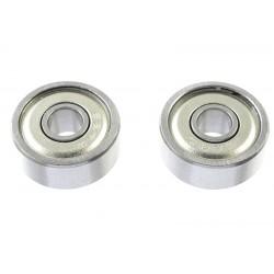 Rolamentos Chrome Steel - ABEC 3 - Metal Shielded - 4X13X5 - MR624ZZ - 2 pcs