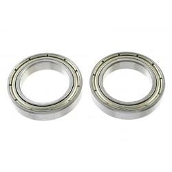 Rolamentos Chrome Steel - ABEC 3 - Metal Shielded - 17X26X5 - MR6803ZZ - 2 pcs