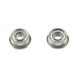 Rolamentos Chrome Steel - ABEC 3 - Metal Shielded - 2X5X2,3 - Flanged - MF682ZZ - 2 pcs