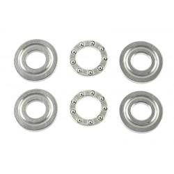 Thrust Bearing - ABEC 3 - 5X12X4 - F5-12G - 2 pcs