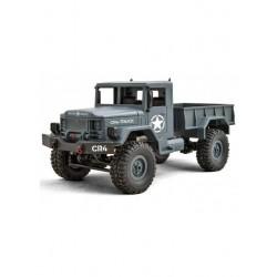 Camião Militar 1/16 FUNTECK CR4 Cinzento 4WD Scale