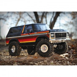 Carro Traxxas-TRX4 1979 Ford Bronco 4WD Crawler 1/10 RTR