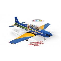 Avião TUCANO 60CC GP/EP SCALE 1:4 ¼ ARF