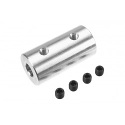 Direct Shaft Coupling - Shaft Dia. 6/5mm - OD 15mm - 1 pc