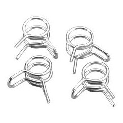 Fuel line clamps, Medium, 2mm