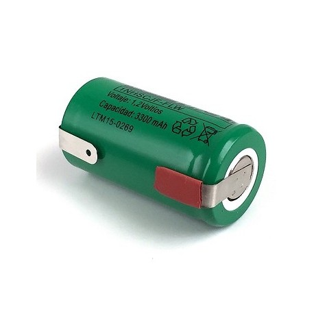 Bateria Nimh Subc 3300mAh 1.2V C/ Pilhas