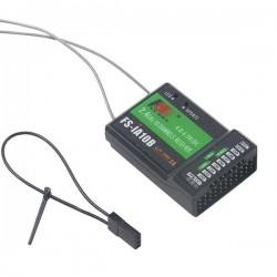Receptor FLySky 10ch FS-iA10B 2.4G PPM , i-BUS
