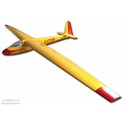 "Planador 33% Ka 6E 197"" ARF YELLOW 5m"