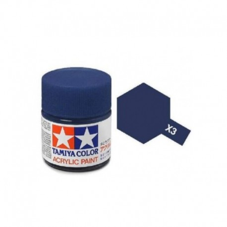 Tinta Acrílica Tamiya Royal Blue X-19 10ml