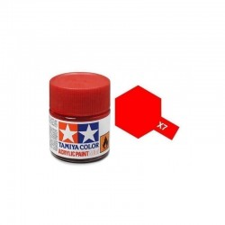 Tinta Acrílica Tamiya Red X-7 10ml