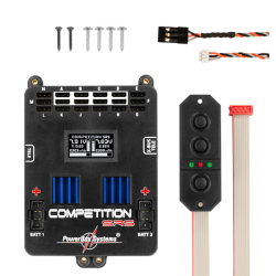 Centralina Powerbox Competition SRS Incl.SensorSwitch And Patchleads