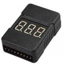 Alarme e medidor de baterias Lipo de 1S-8S