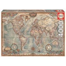 Puzzle 4000 MAPAMUNDI