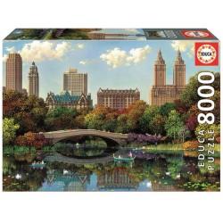 Puzzle 8000 CENTRAL PARK BOW BRIDGE, ALEXANDER CHEN