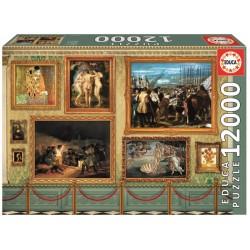 Puzzle 12000 GRANDES OBRAS DE ARTE