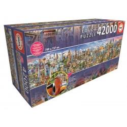 Puzzle 42000 A VOLTA AO MUNDO