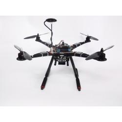 Combo Drone HS500 ARTF c/APM 2.6 e GPS 6M