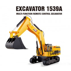 Excavadora RC Multifunções G-MAXTEC