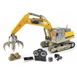 Retro Escavadora Hobby Engine 2.4Ghz RTR 1/12 (C/COMANDO)