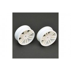 Front wheel, 33mm, Tomahawk Buggy, White