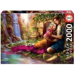 Puzzle 2000 JARDIM SECRETO
