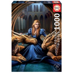 Puzzle 1000 LEALDADE FEROZ, ANNE STOKES