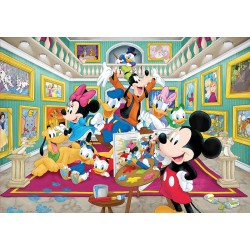 Puzzle 1000 GALERIA DE ARTE DO MICKEY