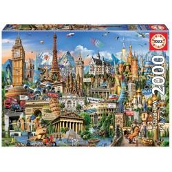 Puzzle 2000 SÍMBOLOS DA EUROPA