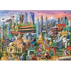 Puzzle 1500 SÍMBOLOS DA ASIA