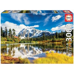 Puzzle 3000 MONTE SHUKSAN, WASHINGTON, EUA
