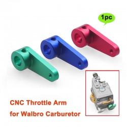 Braço de Acelerador Aluminio (AZUL) Carborador Walbro