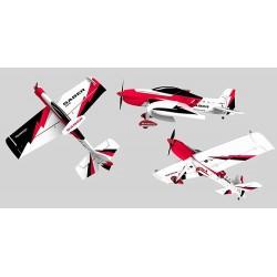 Avião 3D Volantex RC Saber 920 3D Com Motor/Servos/Variador 920mm