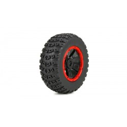 Left E Right Tire (1ea), Premounted: 1:5 4wd