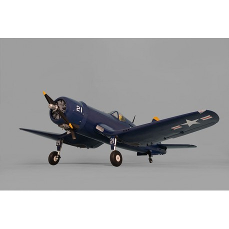 Avião F4U CORSAIR SIZE 60CC GP/EP SCALE 1:5 ½ ARF 2170mm