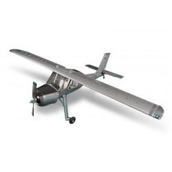 Avião Wilga 3,7m kit composto completo branco