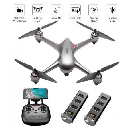 Drone MJX BUGS 2 SE B2SE BRUSHLESS com GPS y Follow Me ,com camara 5G WIFI FPV FULL HD 1080P Pronto para voar com 2 Baterias