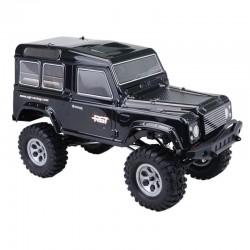 Land Rover 136100V2 RGT 1:10 Rock Crawler 4x4 RC4V2 NEGRO
