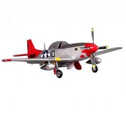 Avião Indoor P-51D V8 Red Tail 1440mm