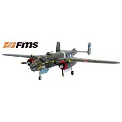 Avião B25 1470 PNP EPO FMS Green