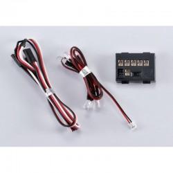 Led Light Set 1/10 W / controler box 6 Leds