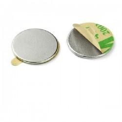 Iman Neodymium Redondo C/Adesivo Nº35 Daim.10x1mm