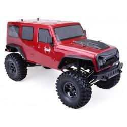 Carro Rock Crawler RGT EX86100 1/10 2.4G 4x4 RTR WaterProff Vermelho FTX OUTBACK FURY